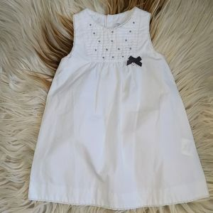 Tartine et Chocolat white dress 2A